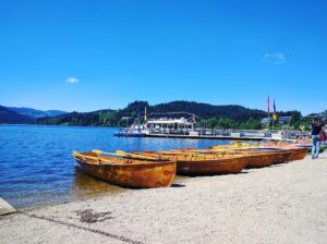 אגם טיטיזי בקיץ